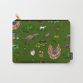Jurassic pattern Carry-All Pouch