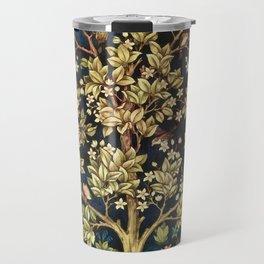 William Morris Tree Of Life Travel Mug