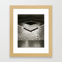 Into the Infinity Framed Art Print