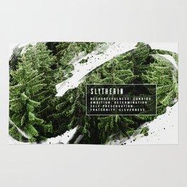 Slytherin Nature Rug