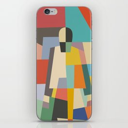MISTERY WOMAN iPhone Skin