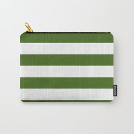 Simply Stripes in Jungle Green Carry-All Pouch