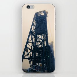 Steel Bridge, Portland, Oregon iPhone Skin