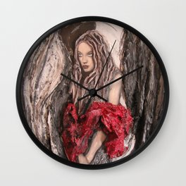 Halo - the Goddess Wall Clock
