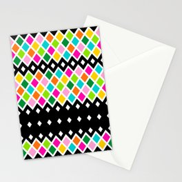 DIAMOND - Black Stationery Cards