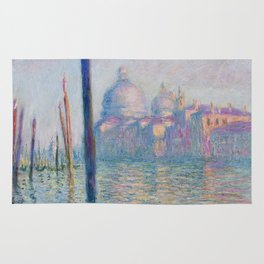 Le Grand Canal by Claude Monet Rug