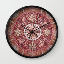 Maladhara Awakening Mandala Wall Clock