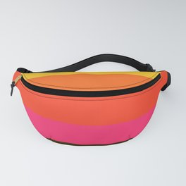 Earth and Summer Sky - Color Strips - Colors of Travel Fanny Pack