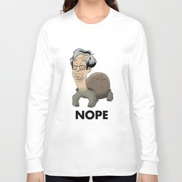 Satoshi Nakamoto Turtle Long Sleeve T-shirt