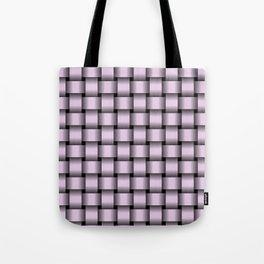 Pastel Violet Weave Tote Bag