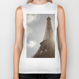 Eiffel Tower 1 Biker Tank