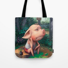 Sufferer Pig Tote Bag