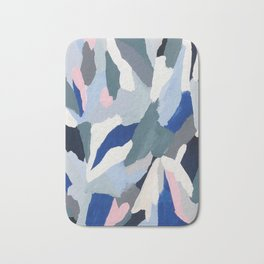 Ascent: abstract painting Bath Mat