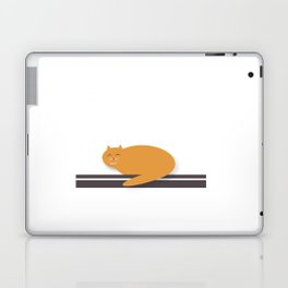 Happy Cat Nap Laptop & iPad Skin