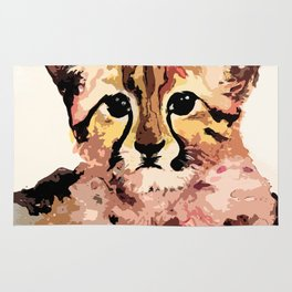 Leo the leopard Rug