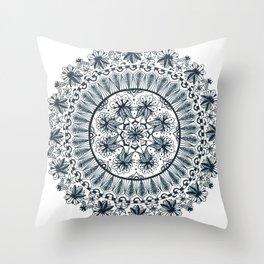 Awaken Nature Mandala Throw Pillow