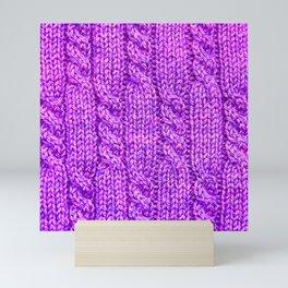 Knitting_030_by_JAMFoto Mini Art Print