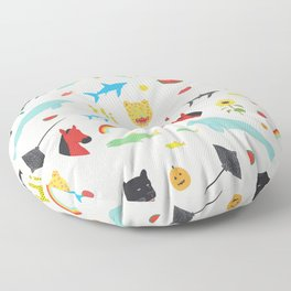 All Together Floor Pillow