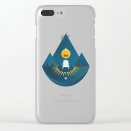 The Sun King Clear iPhone Case
