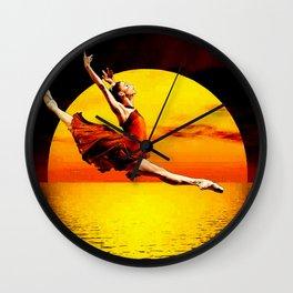 Shadow Dancer 2 Wall Clock
