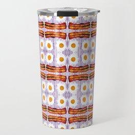 psicodic eggs and bacon Travel Mug