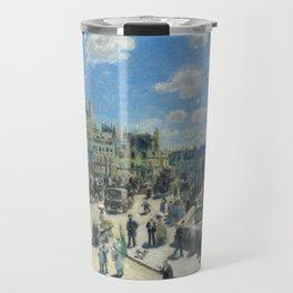 Pont Neuf Paris Painting by Auguste Renoir Travel Mug