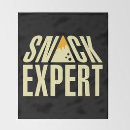 SNACK EXPERT Throw Blanket