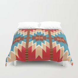 American Native Pattern No. 18 Duvet Cover