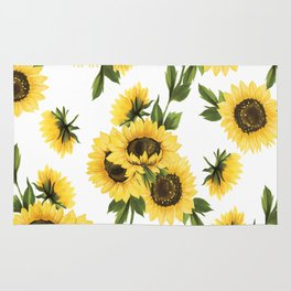Lovely Sunflower Rug