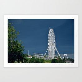 Ferris Wheel Galore Art Print