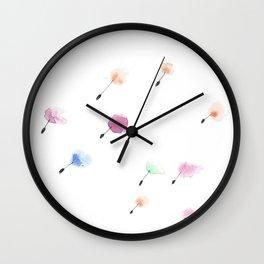 flower fairies Wall Clock