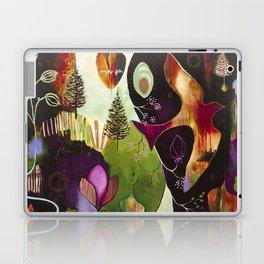 """Deep Peace"" Original Painting by Flora Bowley Laptop & iPad Skin"