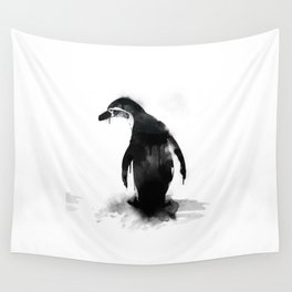 little pingu Wall Tapestry