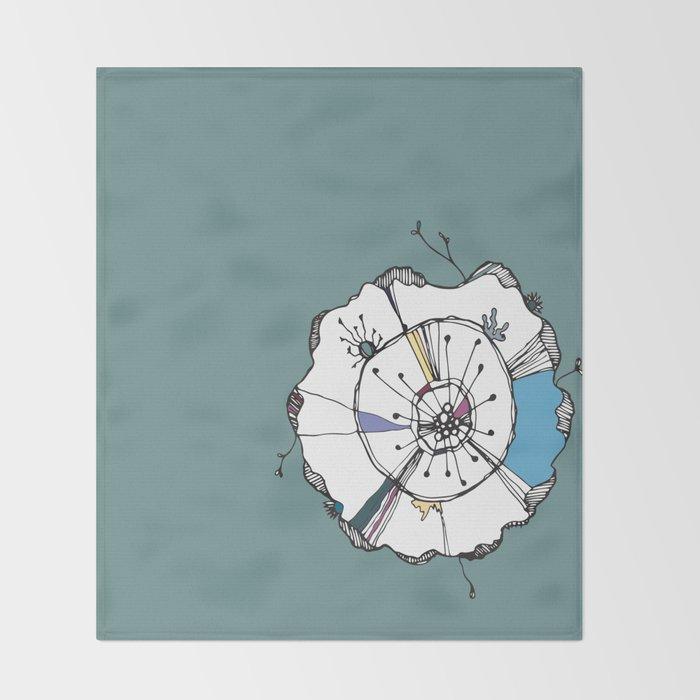Urchin Throw Blanket