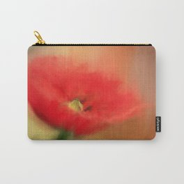 Poppy Elegance Carry-All Pouch