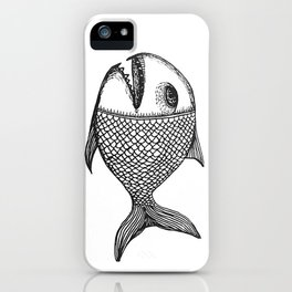 ancient fish iPhone Case