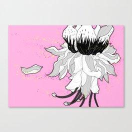 Fuscia Canvas Print