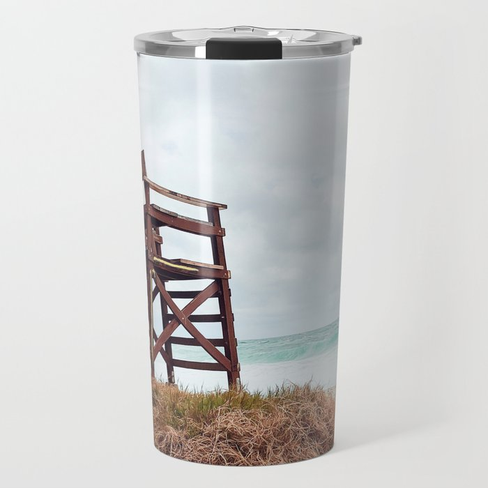 Beach Seats Travel Mug