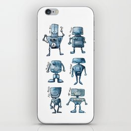 We Are All Robots iPhone Skin