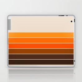 Golden Spring Stripes Laptop & iPad Skin