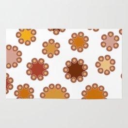Floral Dots Rug