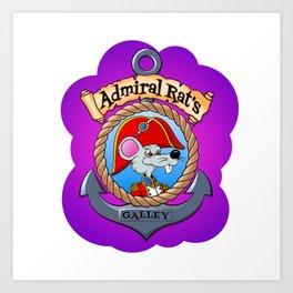 Admiral Rat's Galley Art Print