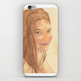 The bird girl iPhone Skin