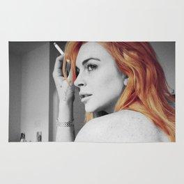 Lindsay Lohan Rug