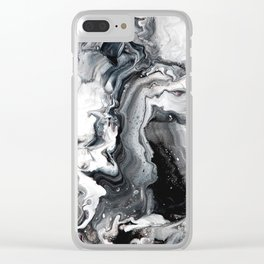 Marble in the Water Clear iPhone Case