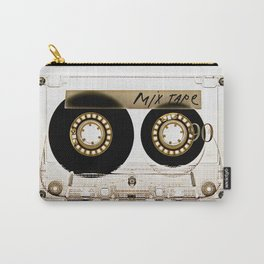 Transparant mix tape Retro Cassette Carry-All Pouch