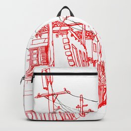 Venice Beach Alley Backpack
