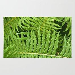 GREEN FERN POETRY Rug