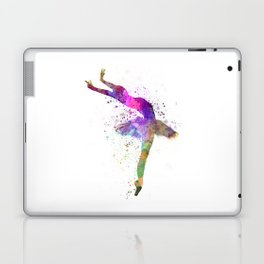 Woman ballerina ballet dancer dancing  Laptop & iPad Skin