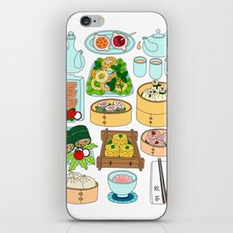 Dim Sum Lunch iPhone Skin